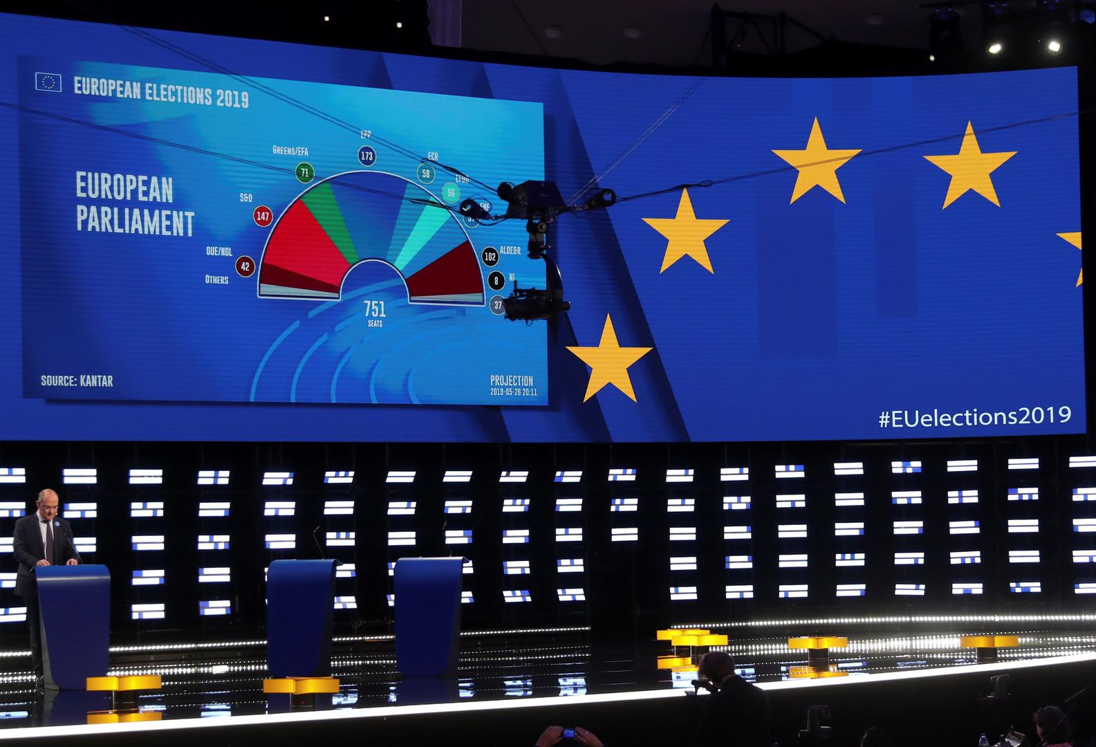 البرلمان الأوروبي يعلن توقعاته بنتائج الانتخابات التشريعية 2019