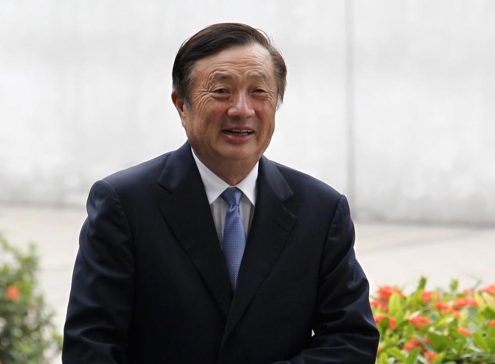 رن زهينغفي مؤسس شركة الاتصالات الصينية العملاقة هواوي