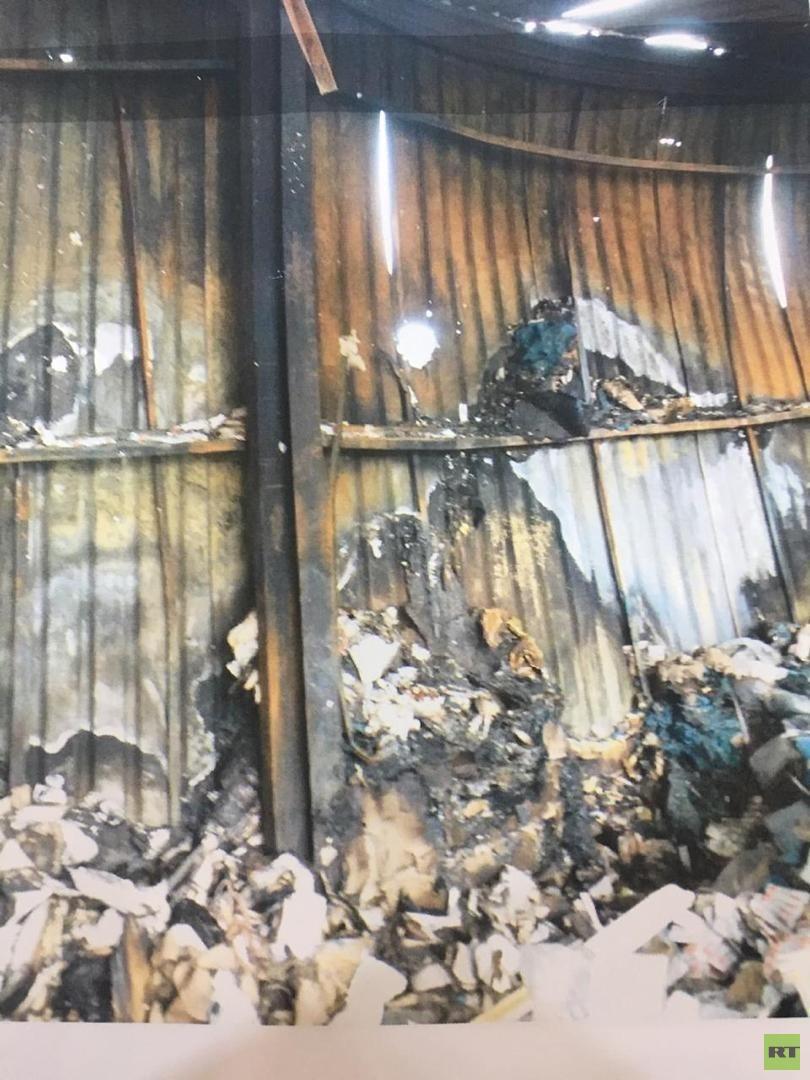 المؤسسة الوطنية للنفط في ليبيا: حريق مستشفى النفط بطرابلس نجم عن قصف مباشر