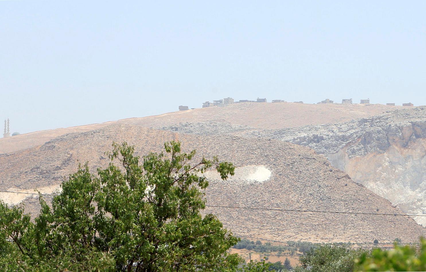 جرود عرسال الحدودية مع سوريا- أرشيف