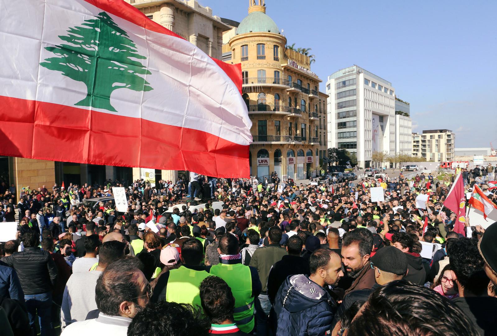 احتجاجات في لبنان على الموازنة - 21 مايو