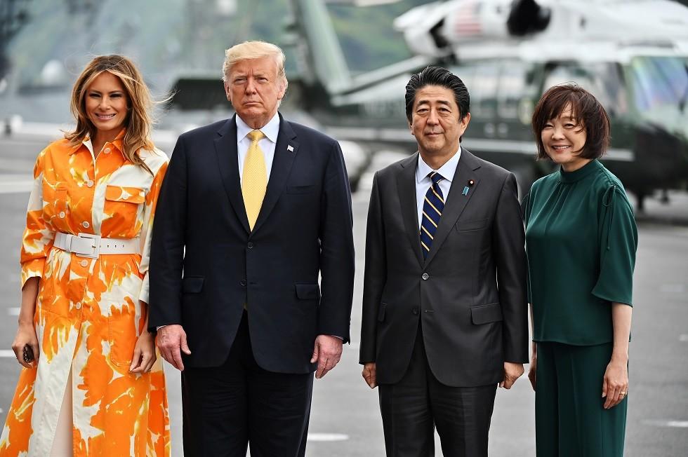 ترامب يعسكر اليابان بحاملات الطائرات ومقاتلات F-35