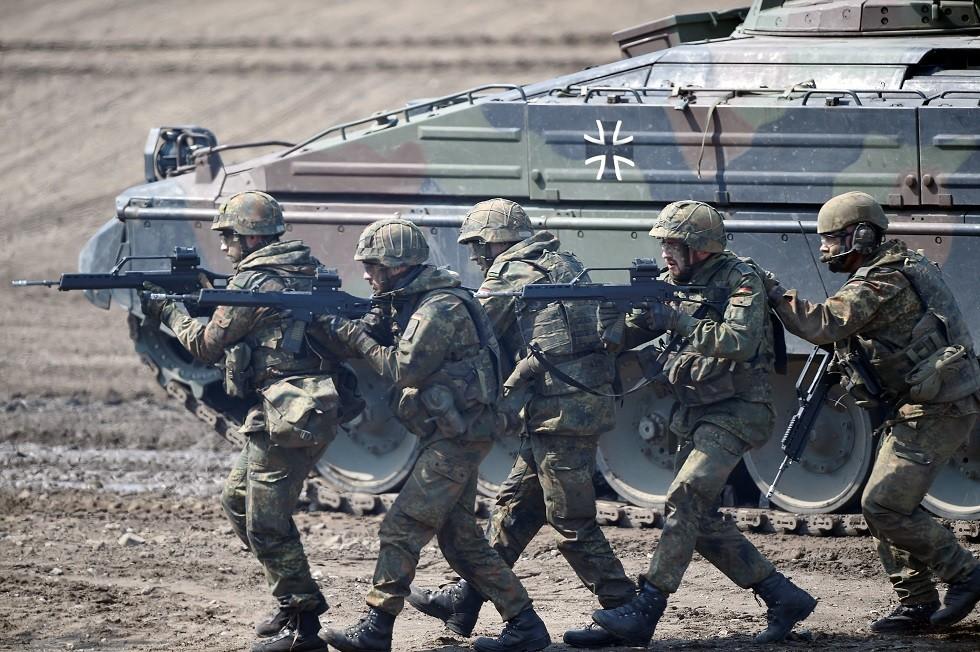 قوات تابعة لحلف الناتو، مونستر، ألمانيا، 20 مايو 2019
