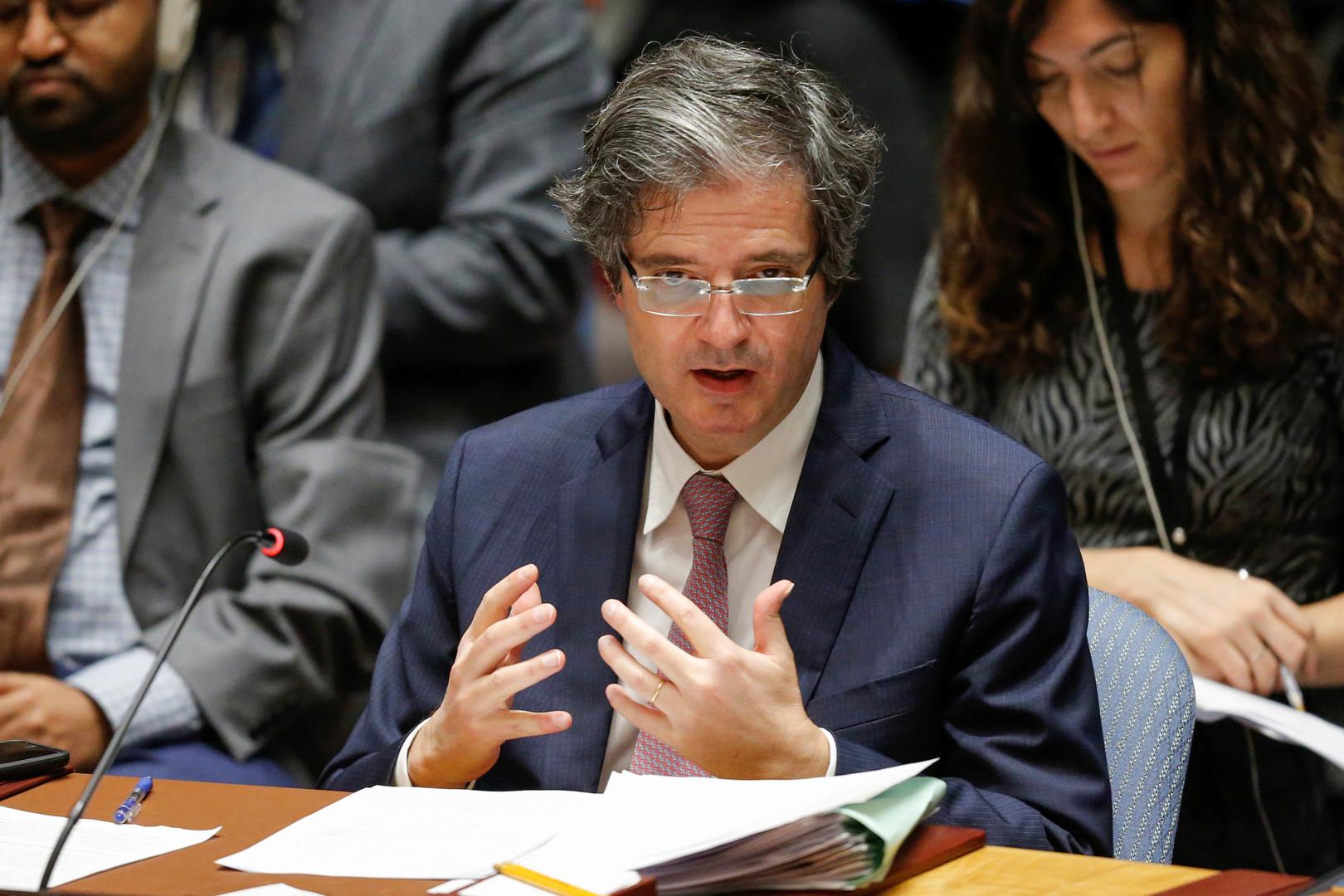 مندوب فرنسا الدائم لدى الأمم المتحدة، فرانسوا ديلاتر