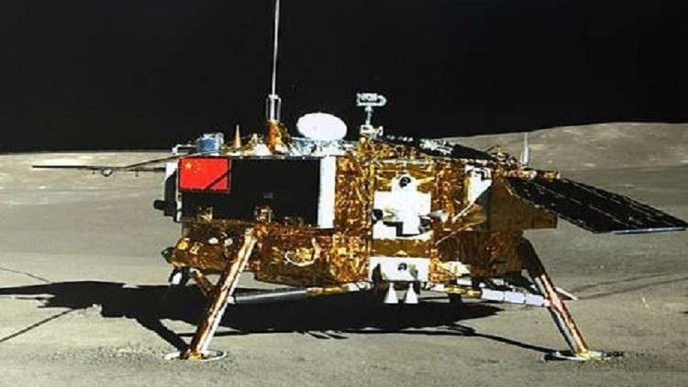 The Chinese moon rover continues work on the moon