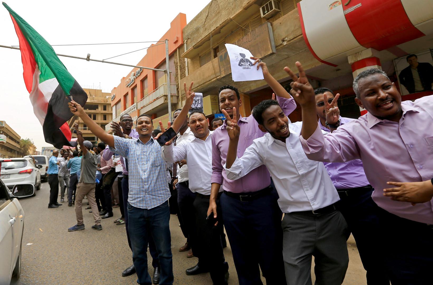 استمرار الإضراب في السودان لليوم الثاني ودعوات لاعتصام مسائي