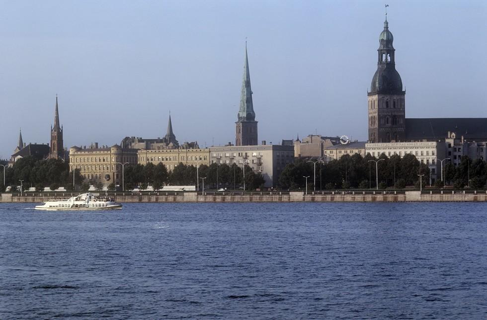 ريغا عاصمة لاتفيا- ارشيف