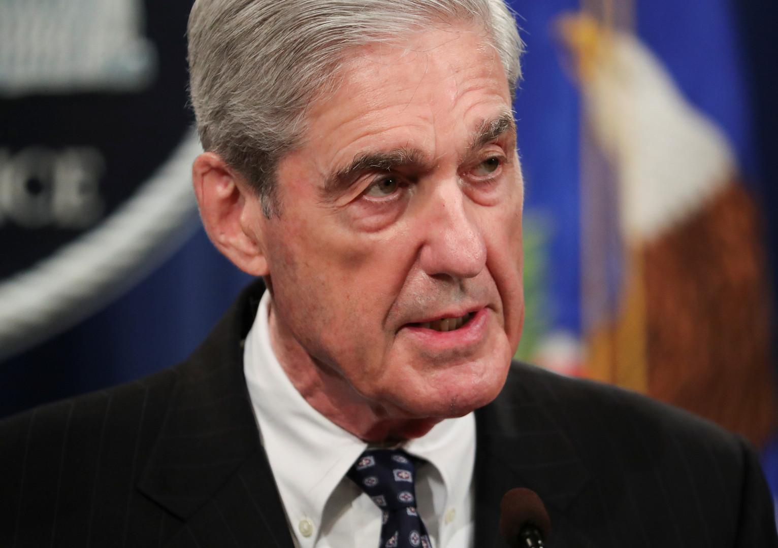 روبرت مولر، المحقق الخاص في تدخل روسيا المزعوم في انتخابات الرئاسة الأمريكية 2016