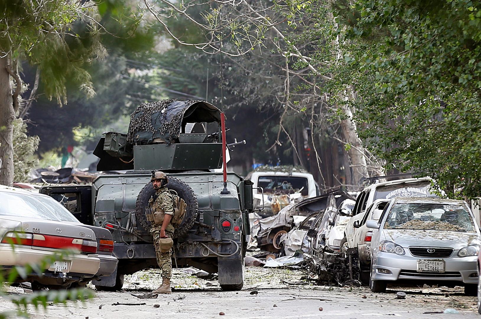 6 قتلى بتفجير انتحاري أمام جامعة عسكرية في كابل.. و