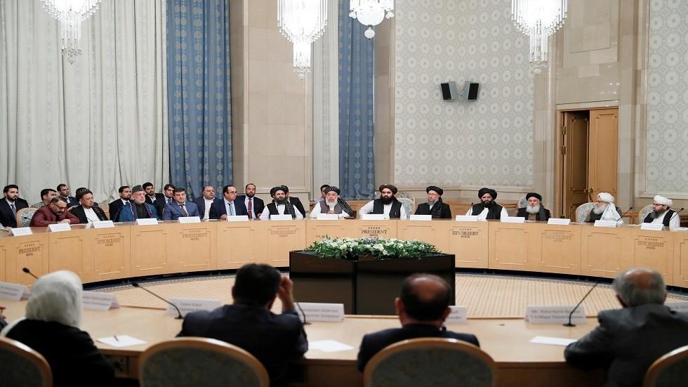 مفاوضات السلام بين وفد حركة