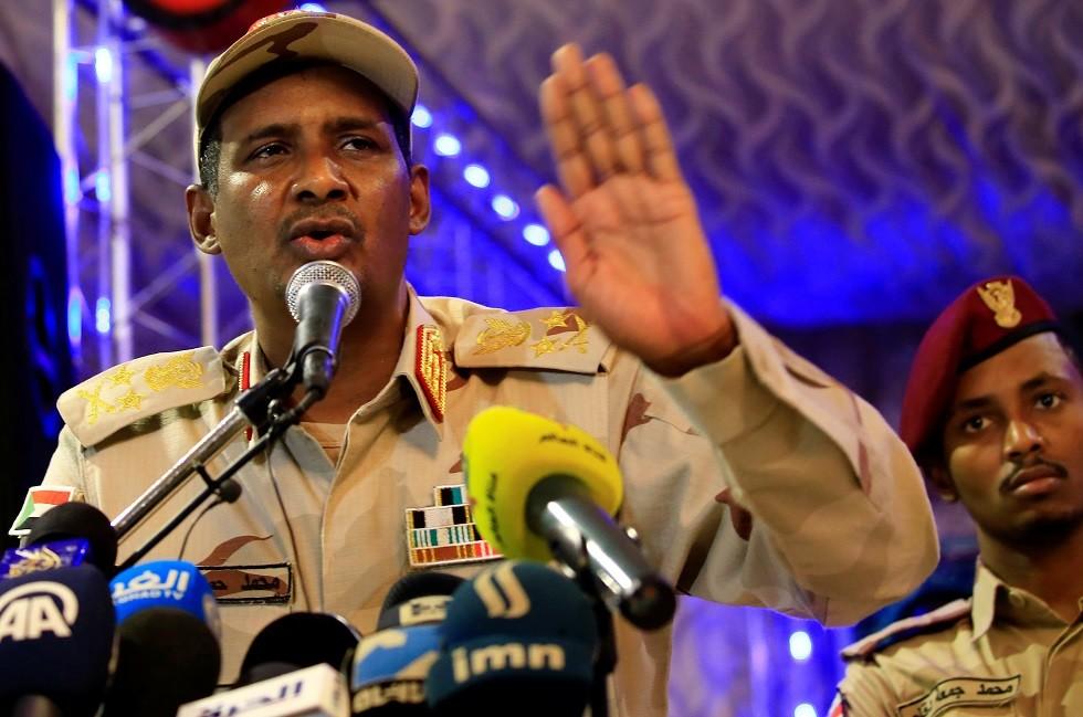 السودان.. نائب رئيس المجلس العسكري الانتقالي يبعث برسالة لولي العهد السعودي