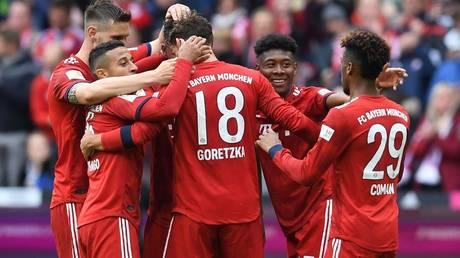 Bayern Munich strengthen Bundesliga lead