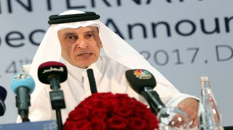 """Criticizing the head of Qatar Airways after describing the Egyptians as """"enemies"""""""