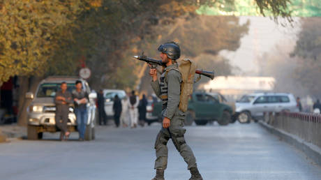 8 killed in an attack on a police department in Afghanistan