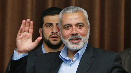 haniyeh thanked qatar for allocating $ 480 million to the palestinians