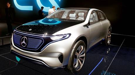 "mercedes starts production of its ""silent car"""