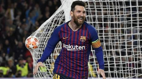 Messi is guaranteed the title of top scorer in the Champions League despite the bitter goodbye to the continental competition