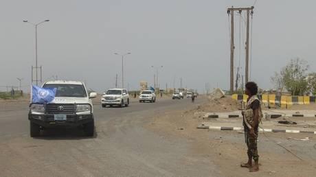 UN assesses damage in grain stores near Hodeidah, Yemen