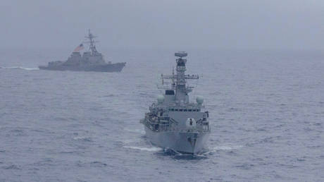 Maritime exercises are the first of its kind in Asia