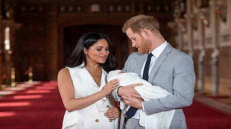 Finally .. reveal the whereabouts of the son of Prince Harry!