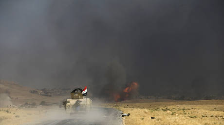 """The Iraqi army bombarded additives for """"dashing"""" in Salah al-Din"""