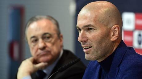 Zidane threatens to leave Real Madrid
