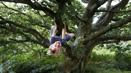 Communication with nature during childhood affects mental health at puberty
