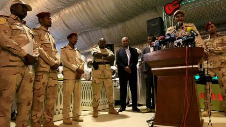 The transitional military junta in Sudan appoints a member rather than resigning