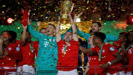 Bayern Munich crowned the German Cup