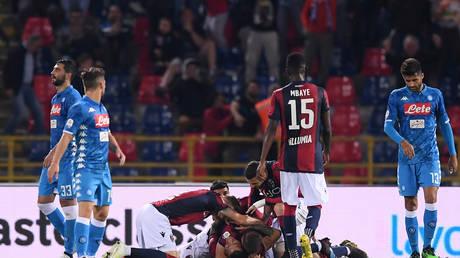 """Napoli end season with """"marginal"""" loss on Bologna"""