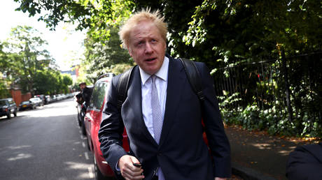 "British court summons Johnson for ""lying"" about ""Breakst"""