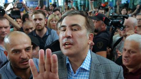 Saakashvili returns to Ukraine