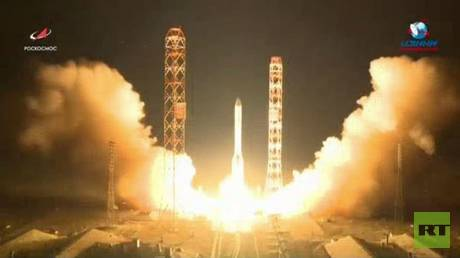 Russia launches the newest and most advanced communication satellites capability to space