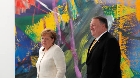 Pompeo: We coordinate efforts with Germany on the Syrian north