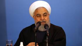 Rohani:我々は現在の状況でワシントンと交渉する準備ができていません、そして、どんな脅迫にも屈服しません