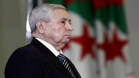 الرئيس الجزائري المؤقت: قلقنا