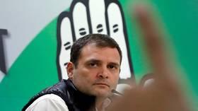 حزب المؤتمر الهندي يرفض استقالة رئيسه غاندي