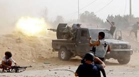 احتدام المعارك داخل العاصمة الليبية طرابلس