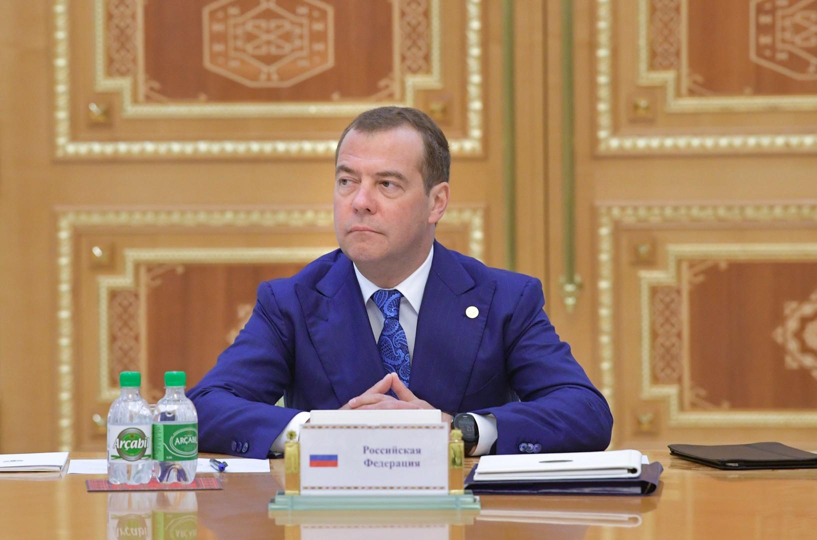 رئيس الوزراء الروسي دميتري مدفيديف