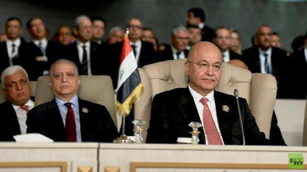 رسالة سلام  إيرانية إلى السعودية والإمارات والبحرين نقلها الرئيس العراقي