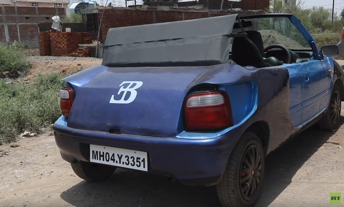 هندي يطور سيارة خارقة