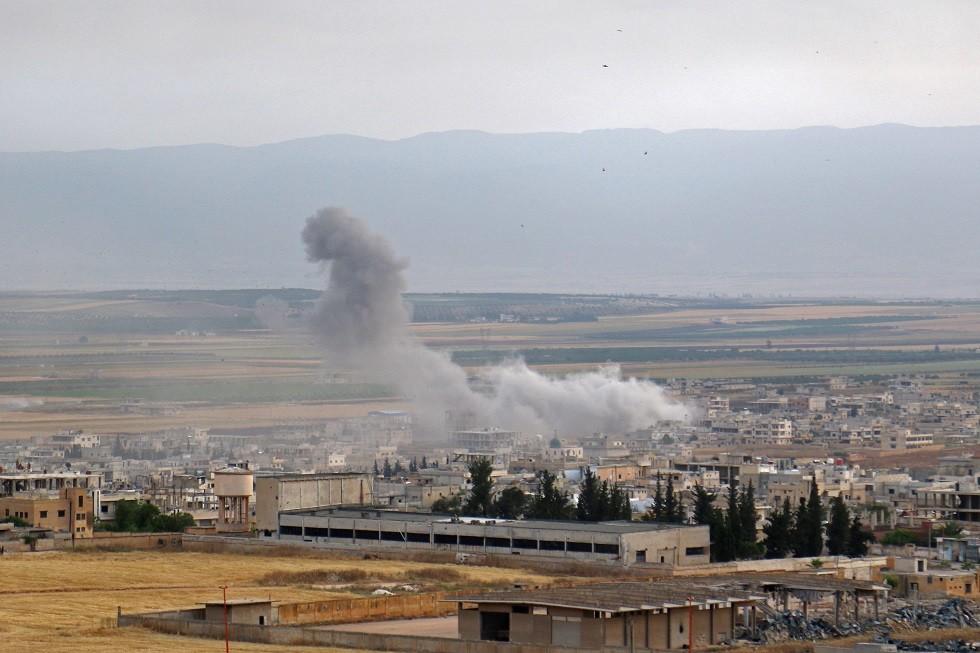 بلدة خان شيخون في محافظة إدلب، 1 يونيو 2019