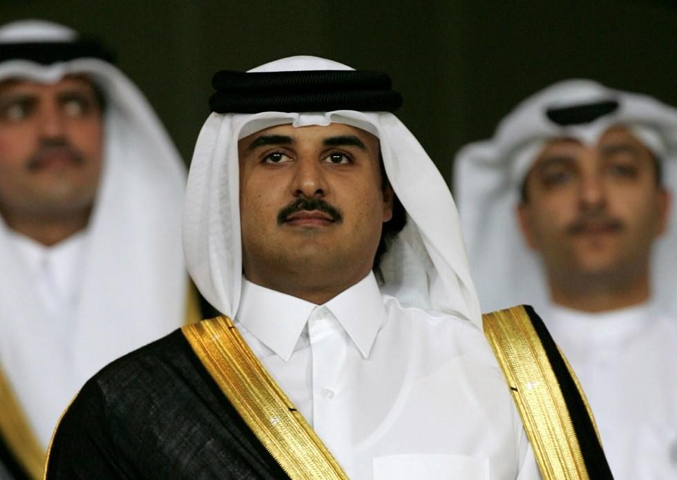 أمير قطر يلتقي وفدا من حركة حماس