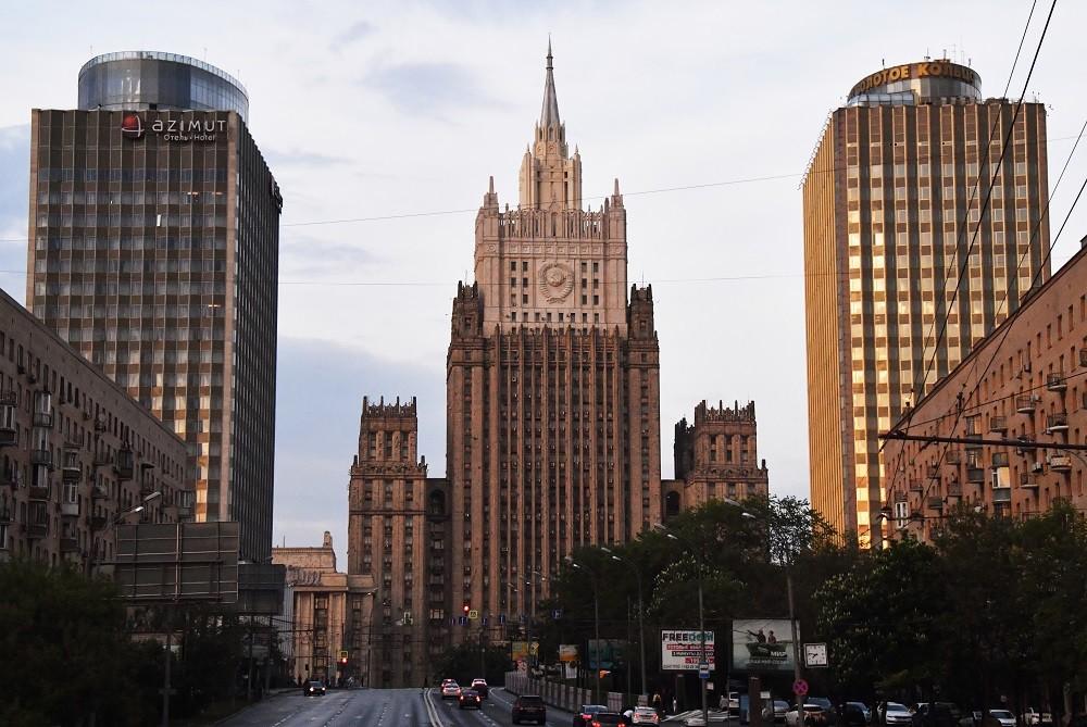 مبنى وزارة الخارجية الروسية، موسكو