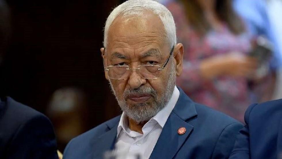 راشد الغنوشي رئيس حركة النهضة التونسية الإسلامية