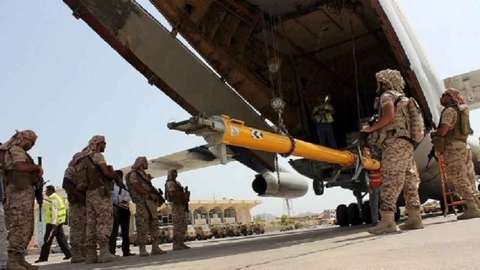التحالف العربي يدمر دبابة و3 عربات للحوثيين في غارات بالضالع