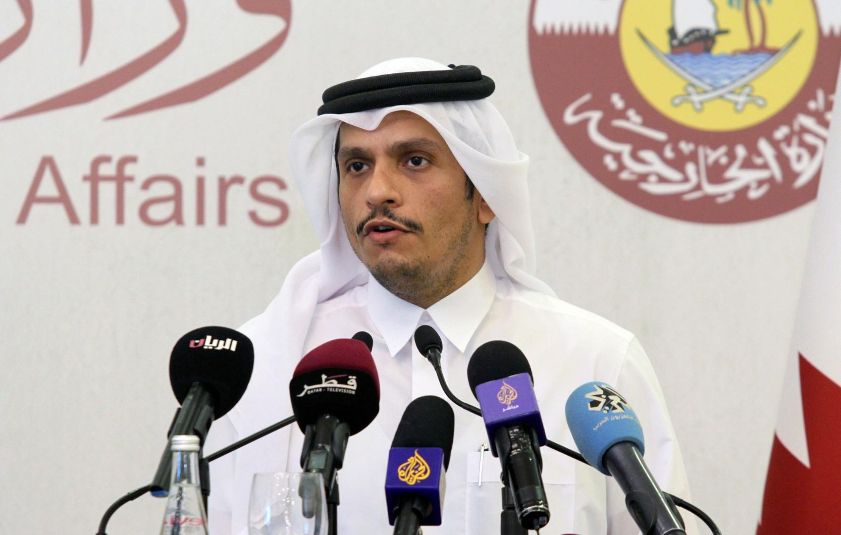 وزير الخارجية القطرية، محمد بن عبد الرحم آل ثاني