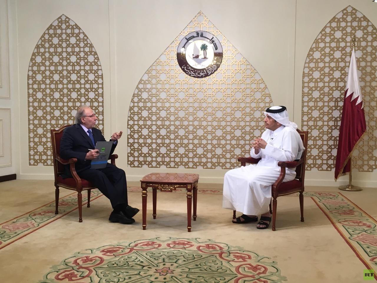 وزير خارجية قطر لـRT: مبادرة عدم الاعتداء الإيرانية تستحق التجاوب وامتلاك