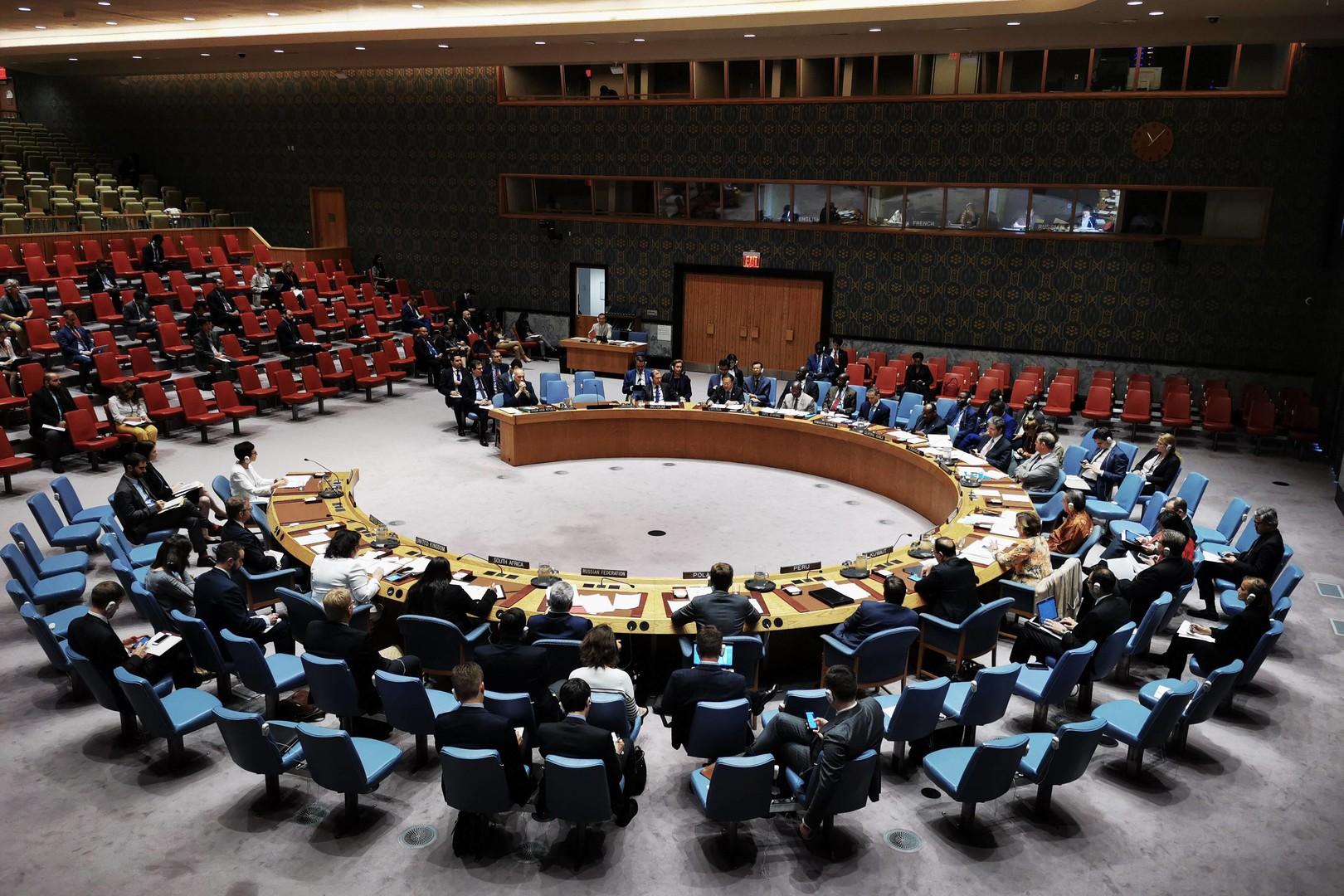 اجتماع لمجلس الأمن الدولي