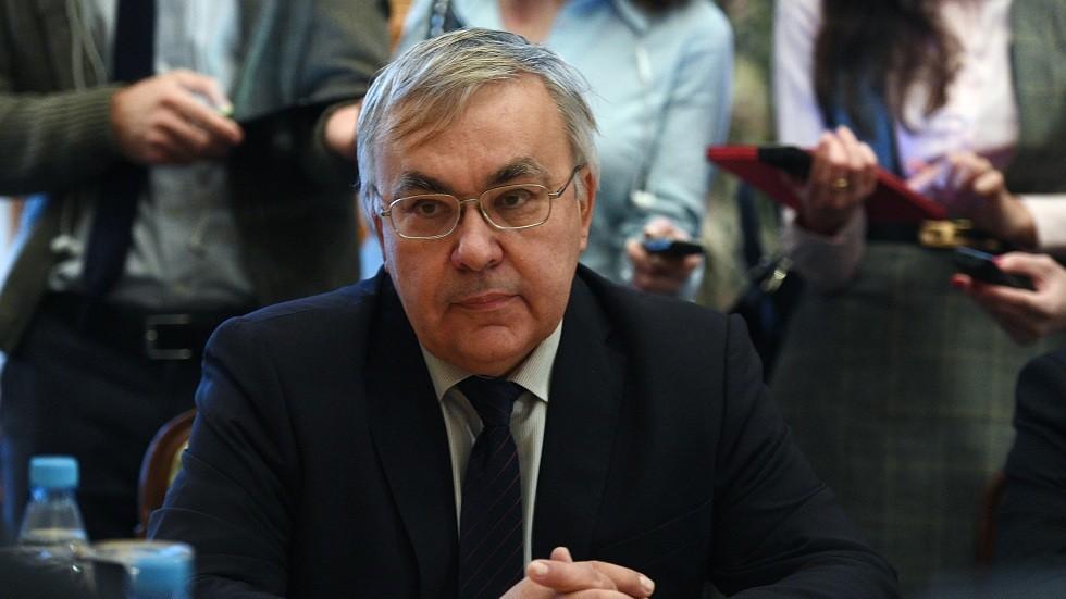 نائب وزير الخارجية الروسي سيرغي فيرشينين
